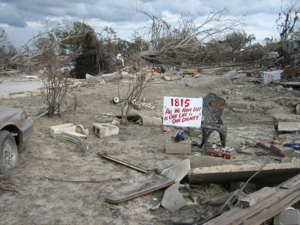 Lower Ninth Ward, New Orleans, December 2005