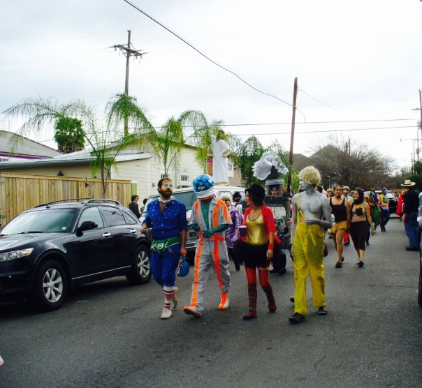 The Society of St. Anne, Fat Tuesday, New Orleans